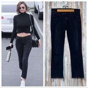 Mother 28 Blackbird The Rascal Ankle Snippet Jeans
